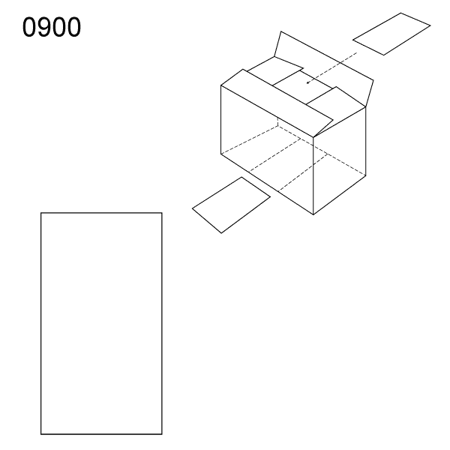 Obrázek z Vnitřní prvek obalu 0900