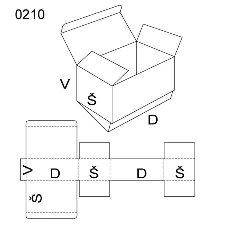 Obrázek z Klopová krabice 0210