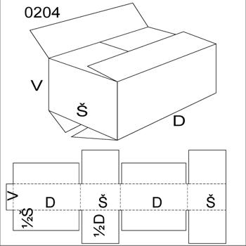 Obrázek Klopová krabice 0204