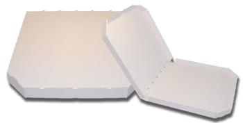 Obrázek Pizza krabice, 32 cm, bílo bílá bez potisku