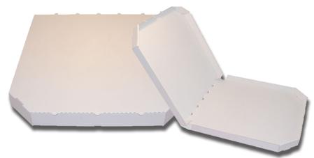 Obrázek z Pizza krabice, 32 cm, bílo bílá bez potisku